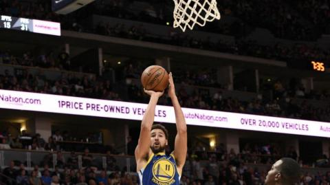 Klay Thompson, jugador de Golden State.