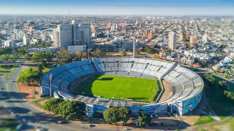 Estadio Centenario de Montevideo.