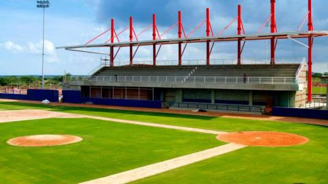 Estadio de béisbol de Repelón.