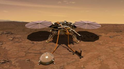 La sonda InSight.