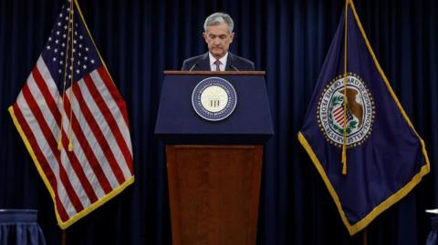 Presidente de la Reserva Federal (Fed), Jerome Powell.