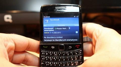 Blackberry denunció a Facebook.