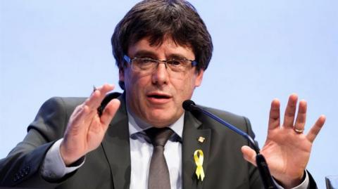 Carles Puigdemont, expresidente catalán.