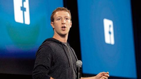 El fundador de Facebook, Mark Zuckerberg.