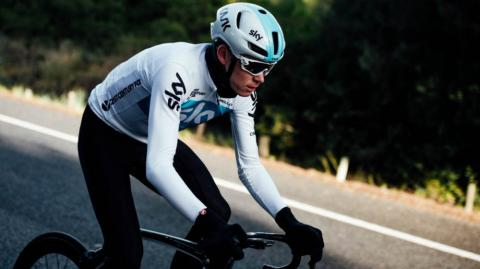 Chris Froome, ciclista del Sky.
