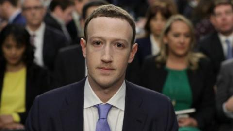 El presidente ejecutivo de Facebook, Mark Zuckerberg.