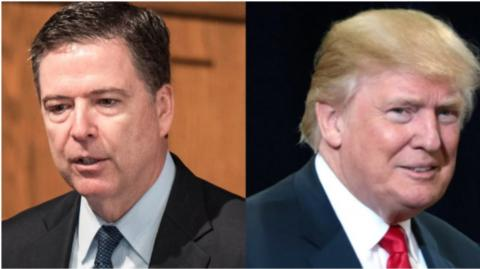 James Comey, exdirector del FBI, habló sobre el presidente Donald Trump.