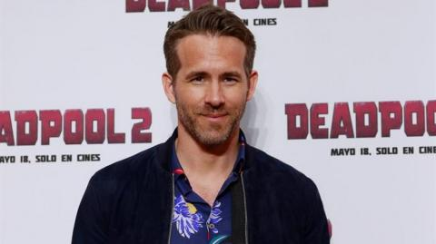 El actor Ryan Reynolds.