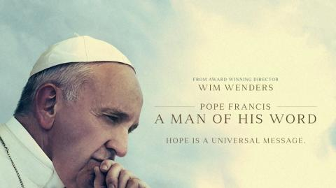 """Imagen del documental """"Pope Francis. A Man of His Word"""" ."""