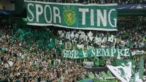 Barras del Sporting de Portugal.