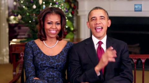 Michelle y Barack Obama.