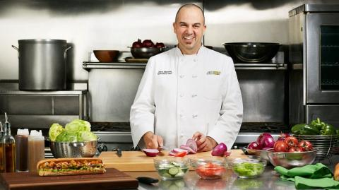 Chris Martone, Chef Ejecutivo de Subway.
