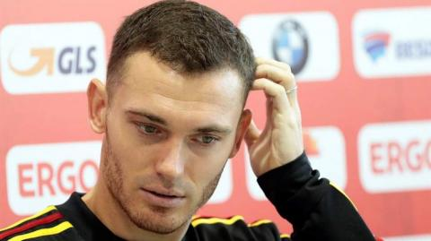 El central belga Thomas Vermaelen.