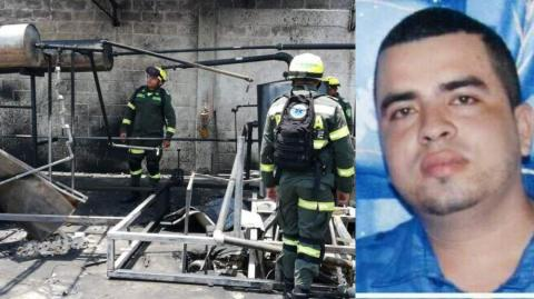 Luis Alberto Escorcia Marín falleció cinco días después del accidente laboral.