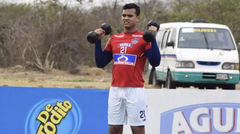 Jeffeson Gómez, defensa de Junior.