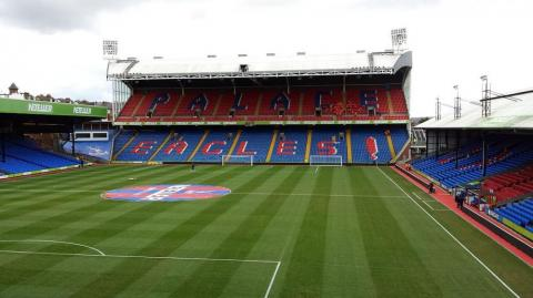 Selhurst Park, estadio del Crystal Palace.