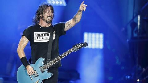 Dave Grohl, líder de Foo Fighters.