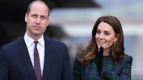 El príncipe William y Kate Middleton, duques de Cambridge.