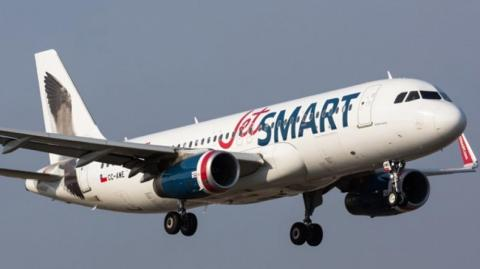 JetSmart llega a Colombia.