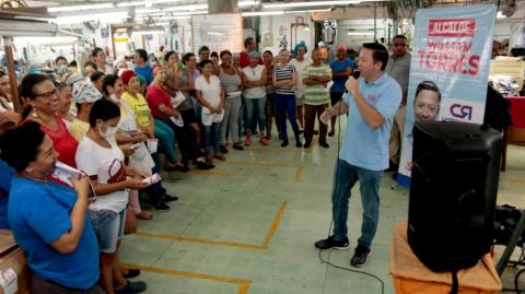 El candidato William Torres Arcila.