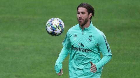 Sergio Ramos, defensa y capitán del Real Madrid.