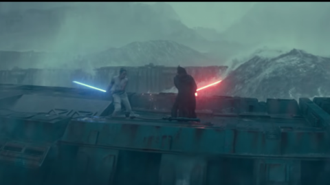 Escena de 'Star Wars IX: El ascenso de Skywalker'.