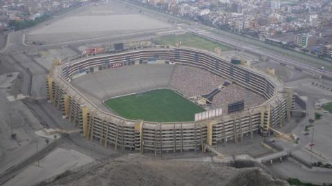Estadio Monumental de Lima.