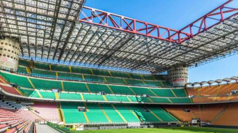 Estadio de San Siro.