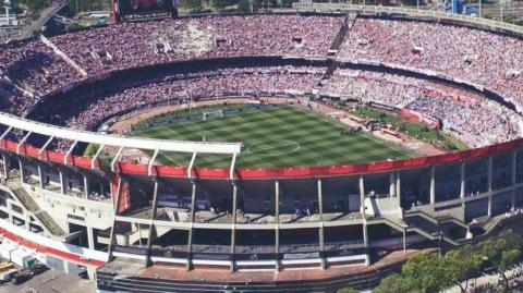 Estadio Monumental de Argentina.