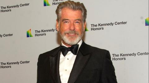 El actor Pierce Brosnan.