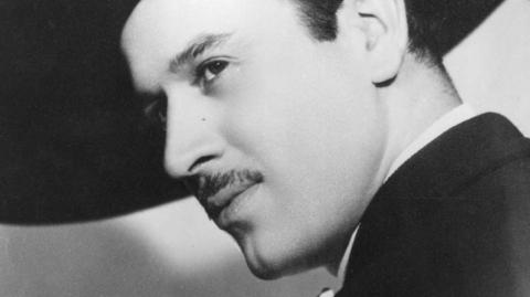 El cantante mexicano Pedro Infante.