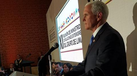 Mike Pence, vicepresidente de Estados Unidos.
