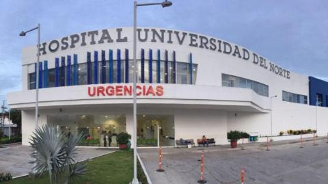 Hospital Universidad del Norte.