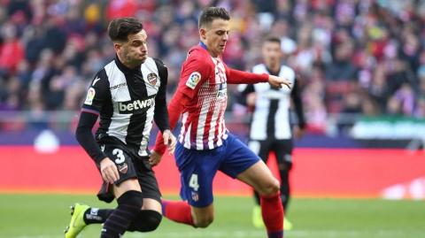 Santiago Arias, defensa colombiano del Atlético de Madrid.