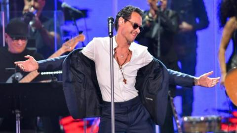 El cantante Marc Anthony.