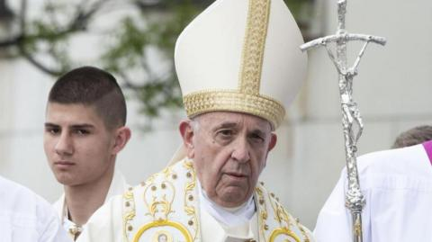 Papa Francisco en Bulgaria.
