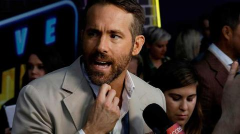 Ryan Reynolds, actor canadiense.