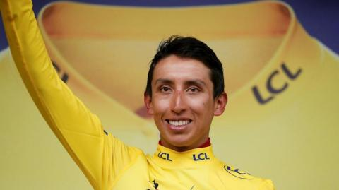 Egan Bernal, campeón virtual del Tour de Francia 2019.