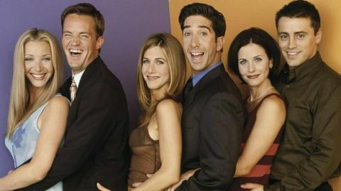 Elenco de la serie 'Friends'.