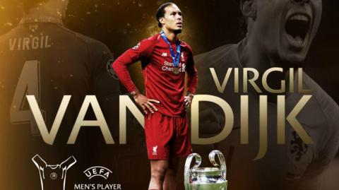 Virgil van Dijk, defensa del Liverpool.