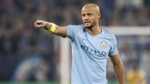 Vincent Kompany, defensa belga.