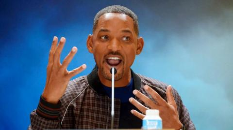 El actor estadounidense Will Smith.