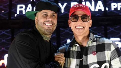 Nicky Jam y Daddy Yankee.