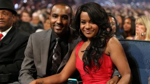 Nick Gordon y Bobbi Kristina Brown.