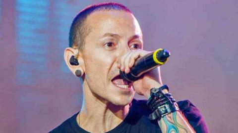 Chester Bennington, fallecido vocalista de Linkin Park.