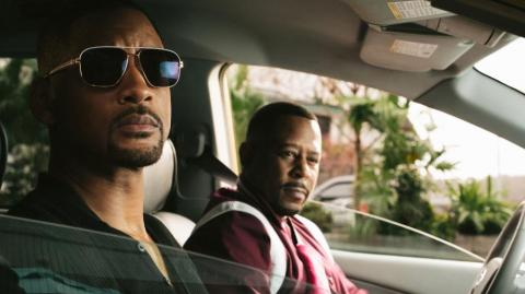 Will Smith y Martin Lawrence, protagonistas de 'Bad boys'.