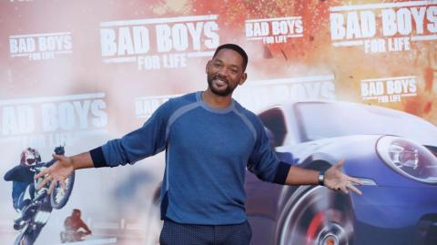 El actor Will Smith durante la premier de 'Bad boys for life'.