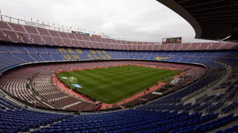 Camp Nou, estadio del Barcelona.