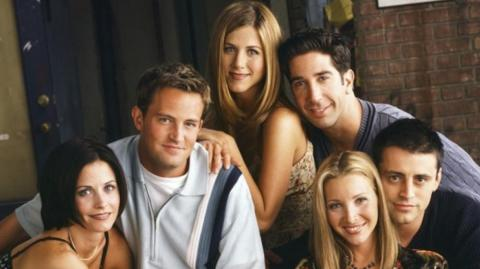 Elenco de 'Friends'.