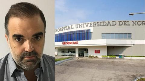Diego Castresana, director ejecutivo del Hospital Universidad del Norte.
